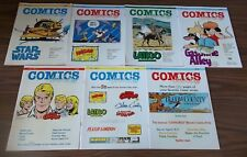 Lot of 7 COMICS REVUE # 4-10 in EXCELLENT Condition