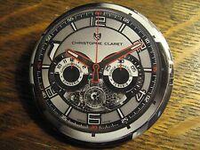 Christophe Claret Multi Dial Swiss Wrist Watch Advertisement Button Lapel Pin