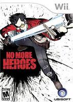 No More Heroes WII New Nintendo Wii