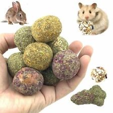 Pet Hamster Chew Teeth Ball Natural Grass Play Toys For Rabbit Chinchilla