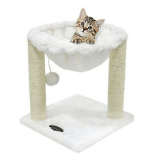 13'' Cat Tree Hammock Scratch Scratching Post House Bed Furniture Pet Play toy