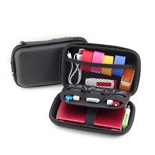 Portable Travel Storage Bag for Digital Gadget Devices USB Cable Data Line WB DO