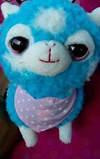 "5.75"" alpacas Plush HOT TOPIC New color light BLUE single male alpacas!!!"