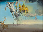 SALVADOR DALI - Temptation of St Anthony - Canvas Art Print - 12x8""