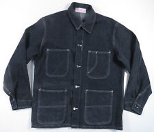 50S 60S UNIVERSAL OVERALL CO UNION MADE SANFORIZED DENIM JACKET SHIRT VINTAGE