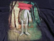 Rare vintage Korn No One Hears Me 1995 nu metal band Black T Shirt