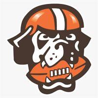 Cleveland Browns #1 NFL Logo Die Cut Vinyl Decal Buy 1 Get 2 FREE