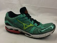 Mizuno Wave Inspire 8 Womens 9.5 Med Aqua Blue Green Black Running Shoes Sneaker