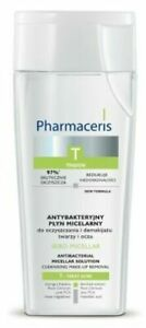 Pharmaceris T Sebo-Micellar Micellar Liquid For Face Cleansing 200ml / UK SELLER