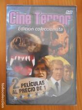 DVD CINE TERROR - 2 PELICULAS - COLMILLOS ASESINOS / LA FUERZA DEL DIABLO (EL)