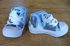 Déstockage !! Neuf ! Chaussures Baskets montantes bébé enfant taille20 bleu ciel