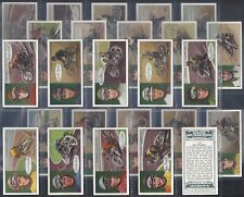 OGDENS-FULL SET- FAMOUS DIRT TRACK RIDERS (25 CARDS) - EXC