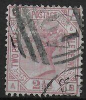 SG141.  2&1/2d.Rosy-Mauve Plate6.  FU With Part Manchester Duplex.  Ref:03191