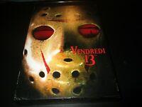 "RARE! COFFRET 7 DVD ""VENDREDI 13 (2, 3, 4, 5, 6, 7 & 8)"" horreur"