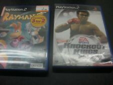 Knockout Kings 2002 (Sony PlayStation 2, 2002) & Rayman 3, complet avec livrets