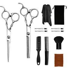 Haarschere Umhang Effilierschere 12 PCS Kamm Friseurschere edelstahl