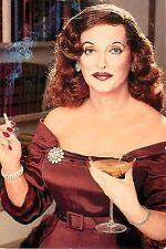 "Bette Davis All About Eve 1950 4x6"" Postcard Movieland Wax Museum"