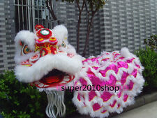 Advertising  Lion Dance mascot Costume pure wool Southern Lion Set for Adults