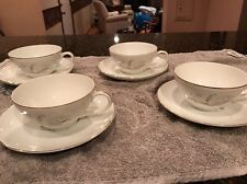 """Kaysons Fine China """"Golden Rhapsody"""" Japan 1961 - Cup & Saucer Set of 4"""