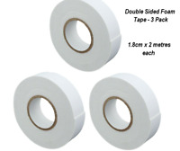 Strong Double Sided Sticky Tape Foam Adhesive Craft Padded Mounting Uk