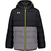 Under Armour Boys' Pronto Puffer Jacket, Black F202, Size Large e9kr