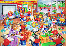 The House Of Puzzles Kidzjigz - 80 PIECE JIGSAW PUZZLE - School Days Children