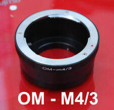 Olympus OM lens to Micro M 4/3 M4/3 Adapter Olympus E-M10 E-PM2 E-PM1 E-M5 II