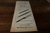 PARKER - PREMIERES COMMUNIONS - Publicité de presse / Press advert 1955