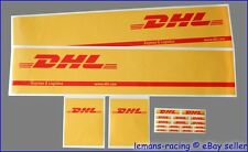 56319 Tamiya 1/14 14th Truck Reefer Trailer DHL Side Decals RC Scania Laminated