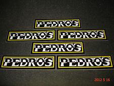 6 AUTHENTIC PEDRO'S STICKERS / DECALS / PEDROS TOOLS #2 AUFKLEBER