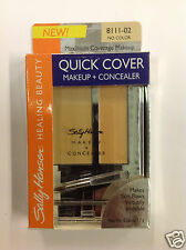 Sally Hansen Quick Cover Makeup + Concealer ( NO COLOR ) NEW.