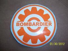 "3"" Bombardier ski-doo,Moto-ski ( NEW Vinyl Engine Recoil Replacement Sticker )"
