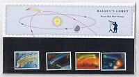 GB Presentation Pack 168 / 169 1986 Halley's Comet 10% OFF 5
