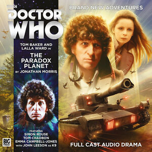 DOCTOR WHO Big Finish Audio CD Tom Baker 4th Doctor #5.3 THE PARADOX PLANET