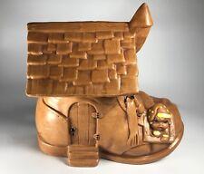 Vintage Twin Winton Shoe House Cookie Jar
