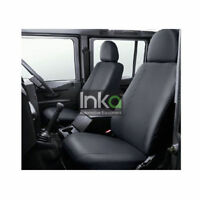 Land Rover Defender INKA Front Pair Tailored Waterproof Seat Covers Grey
