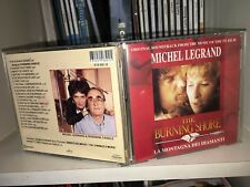 MICHEL LEGRAND THE BURNING SHORE RARE CD OST 1991 ITALY ROSSANA CASALE