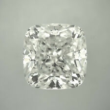 6.5 X 6.5 Mm 1.20 Carat Near White Cushion Diamond Cut Loose Moissanite 4 Ring