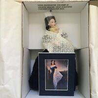 Franklin Mint Gone With the Wind Scarlett's Portrait Porcelain Doll w/COA NRFB!