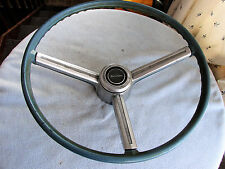 ORIGINAL STEERING WHEEL W/ HORN TRIM FOR 1967 1968 CHEVROLET BELAIR OR BISCAYNE