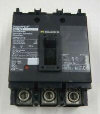 Square D Qdp32125Tm 3 Pole 70 amp 240V Circuit Breaker Used