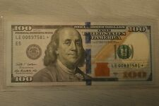 Uncirculated $100 2009A Richmond federal reserve star note