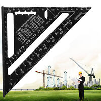 Metric System Triangle Angle Square Speed Square Rafter Protractor Miter Ruler