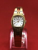 "Vintage Women's Caravelle by Bulova Manual Wind Watch Gold Tone 6"" Bracelet"