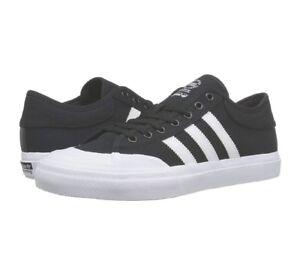 Adidas Matchcourt BLACK WHITE F37383 SKATEBOARDING MEN SHOES SNEAKERS D