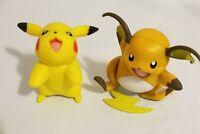 Nintendo 2007 Jakks Pacific Pokemon RAICHU & PIKACHU Figure