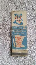 1973 MLB Minnesota Twins original matchbook/schedule