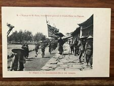 CHINA OLD POSTCARD GOUVERNEUR GENERAL YUNNAN YUNAM !!
