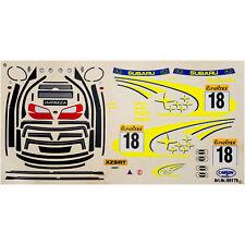 Decal Sheets 1:10 SUBARU IMPREZA No 18 WRC 2001 Carson 69179 800081