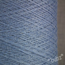 Super soft sock yarn cashmere viscose merino 2/30s 250g cône ball wedgwood bleu